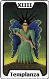 Significado de las Cartas del Tarot - La Templanza