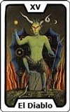 Carta del tarot El Diablo