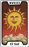 Significado de las Cartas del Tarot - El Sol