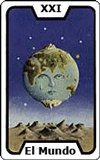 Significado de las Cartas del Tarot - El Mundo