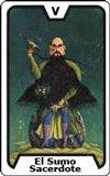 Significado de las Cartas del Tarot - El Sumo Sacerdote