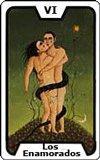Significado de las Cartas del Tarot - Los Enamorados