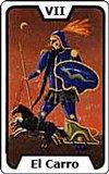 Significado de las Cartas del Tarot - El Carro