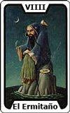 Significado de las Cartas del Tarot - El Ermitaño
